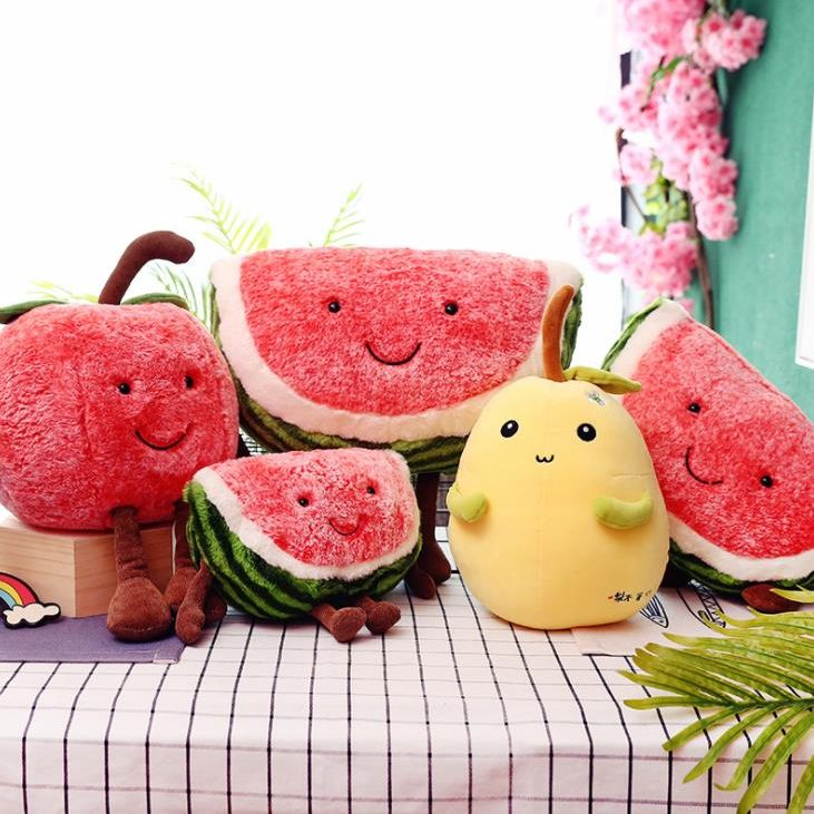 fruit plush toy